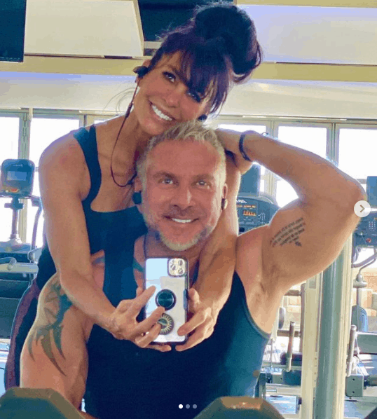 Shannon Ray in the Gym with Her Lover