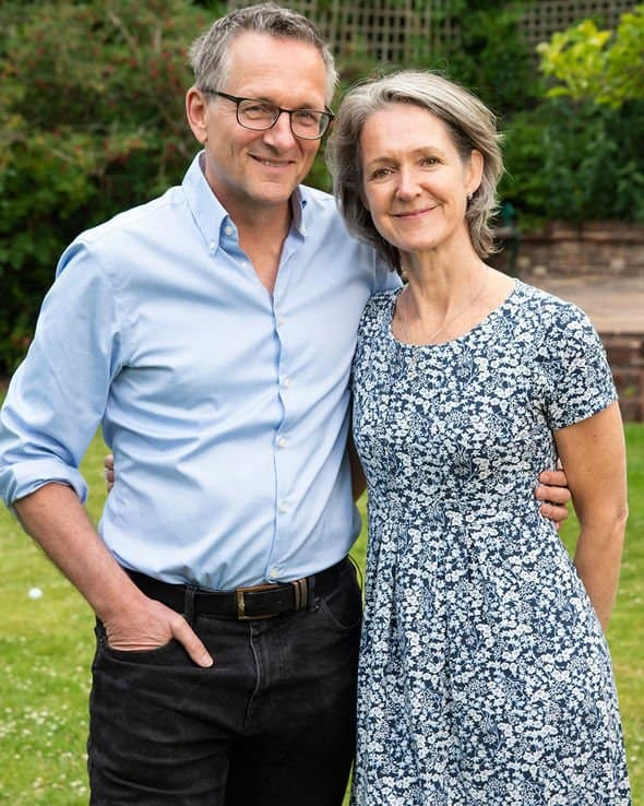 Michael Mosley with his wife Clare