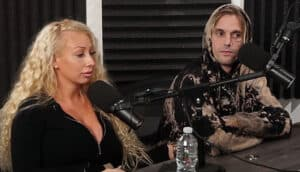 Jenna with her ex-boyfriend, Aaron Carter