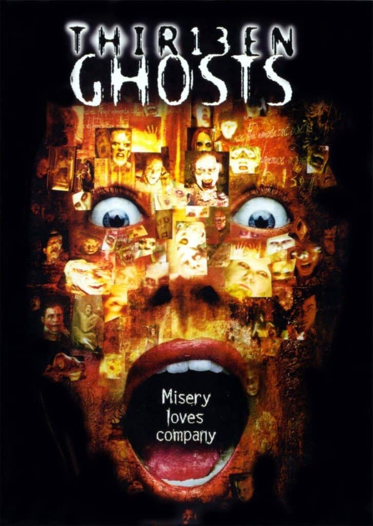 Cover of Thir13en Ghosts movie.