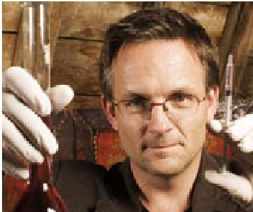 Doctor Michael Mosley in Laboratory