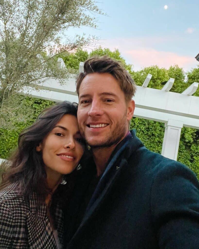 Beautiful couple: Justin Hartley and Sofia Pernas