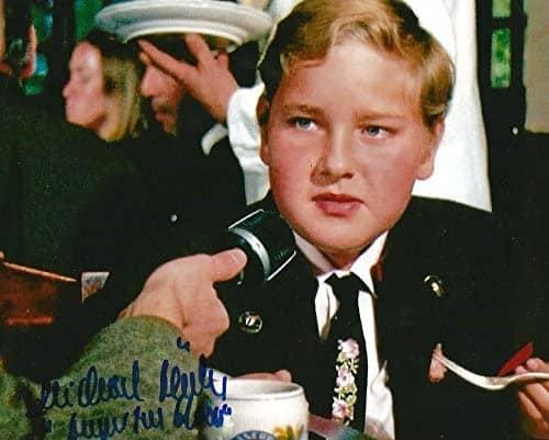 Michael Bollner as a child