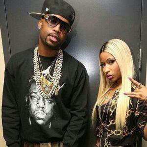 Safaree with Nicki Minaj