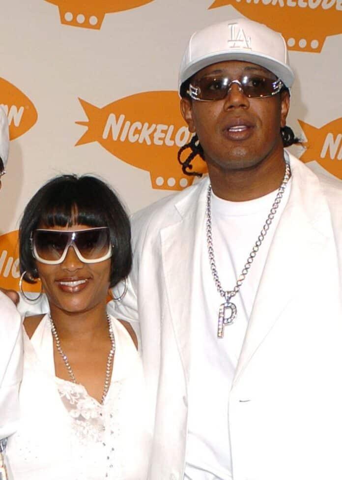 Sonya with her Husband, Master P