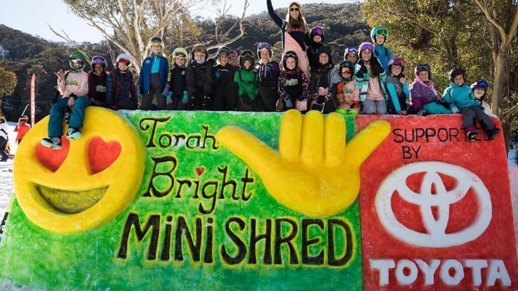 Torah Brighta at the event of Mini Shred.