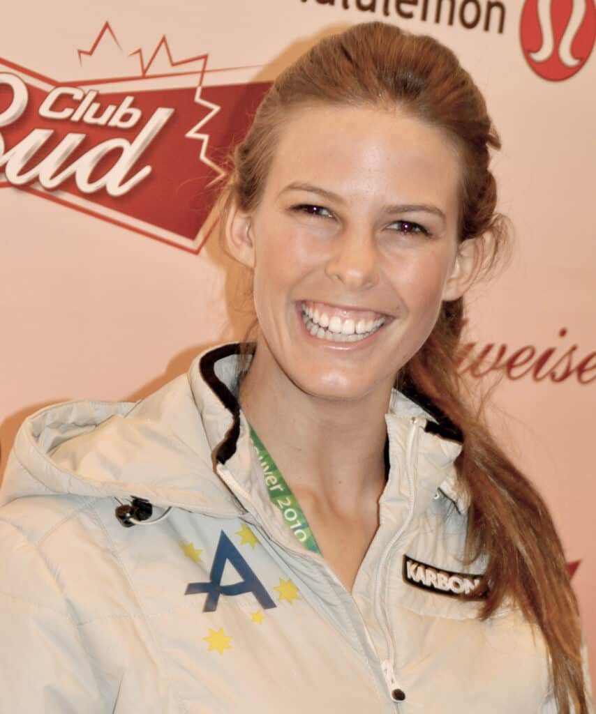 Torah Bright with her bright smile.