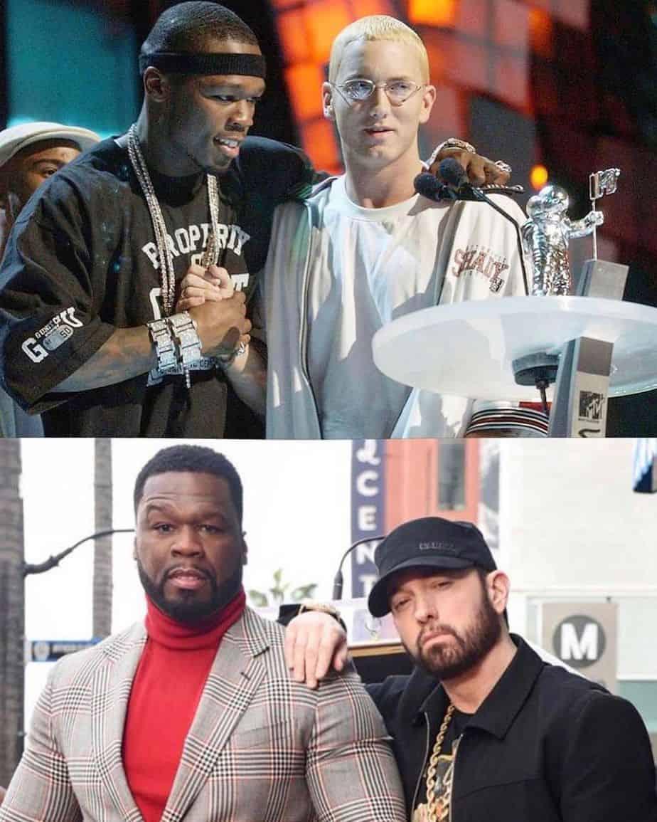 50 Cent with Eminem