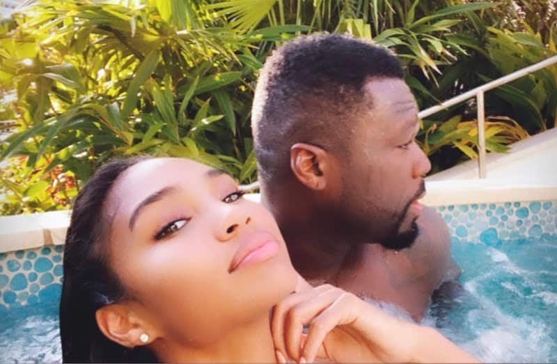 Curtis with his gf at the Bahamas