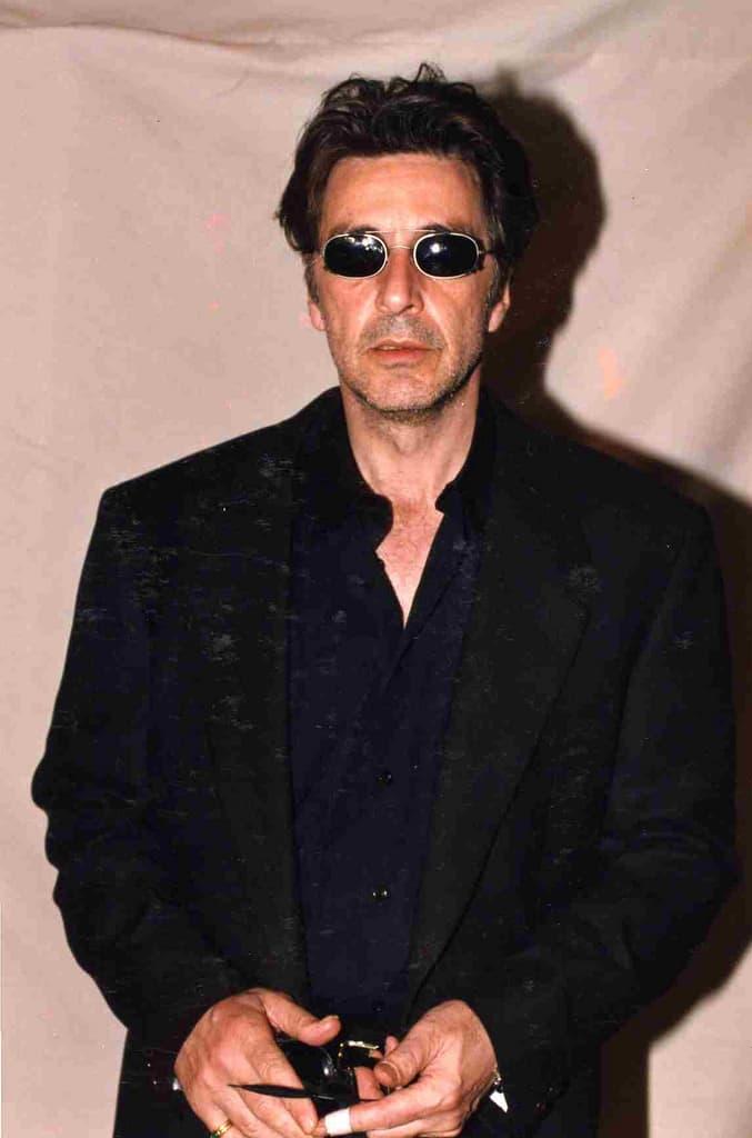 Al Pacino cool shades.