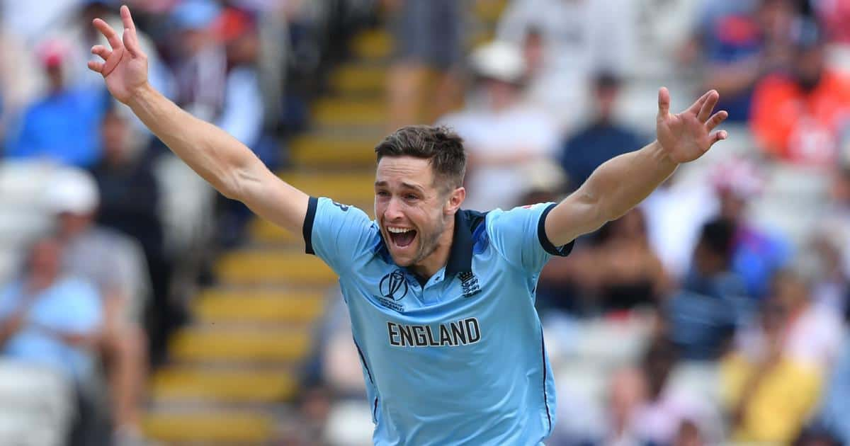 Chris Woakes in 2019 world cup