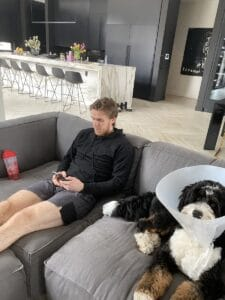 Connor-and-his-dog