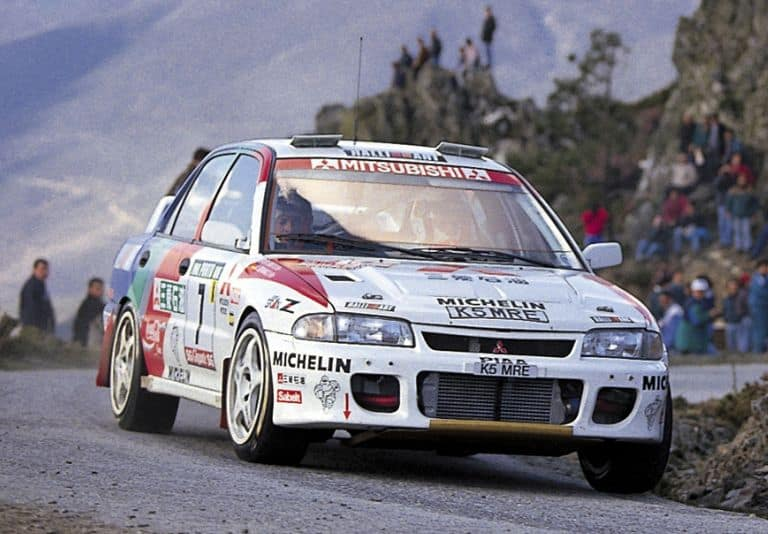 Tommi Had Joined Mitsubishi in the 1995 WRC
