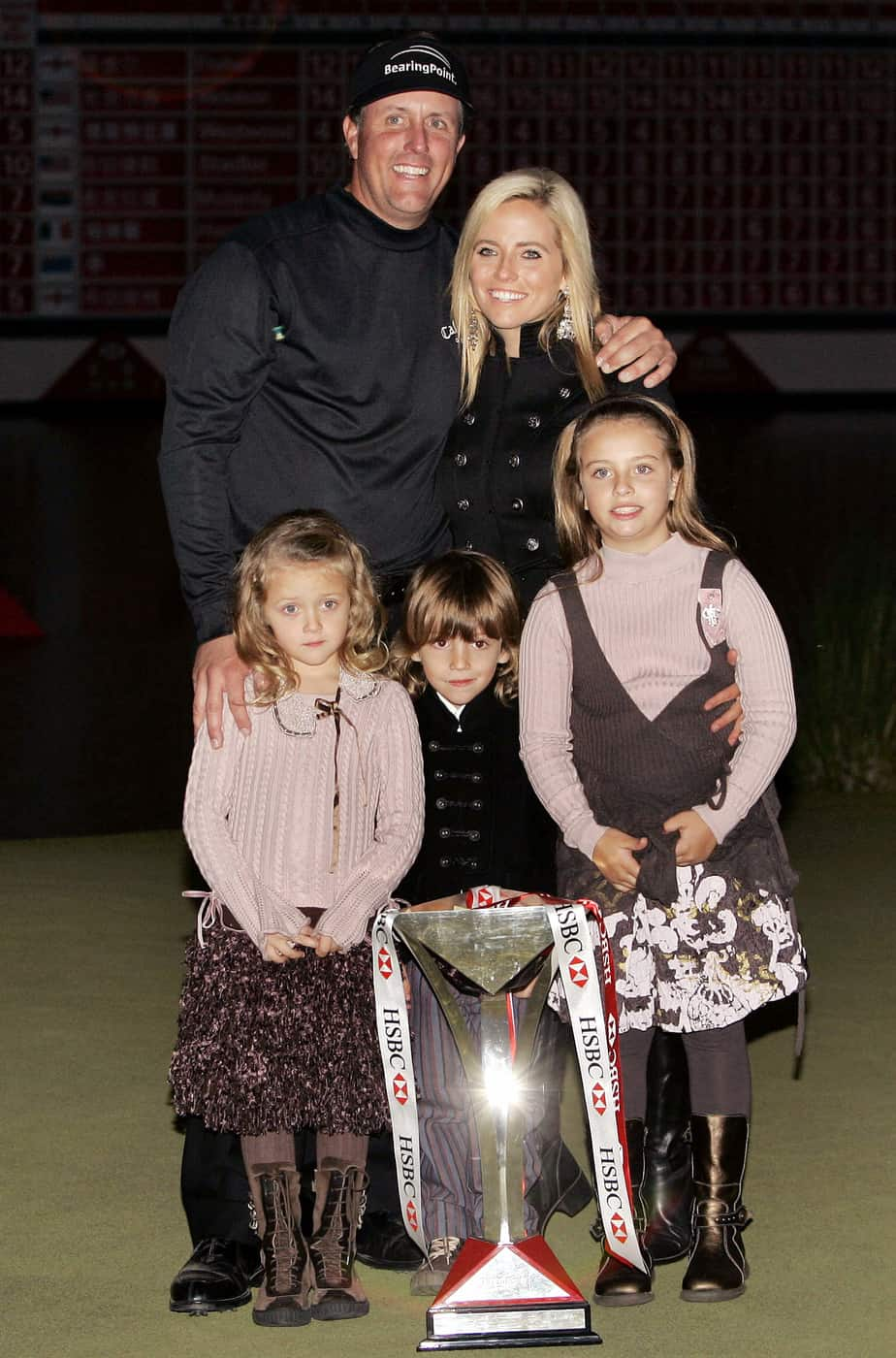 phil with his family