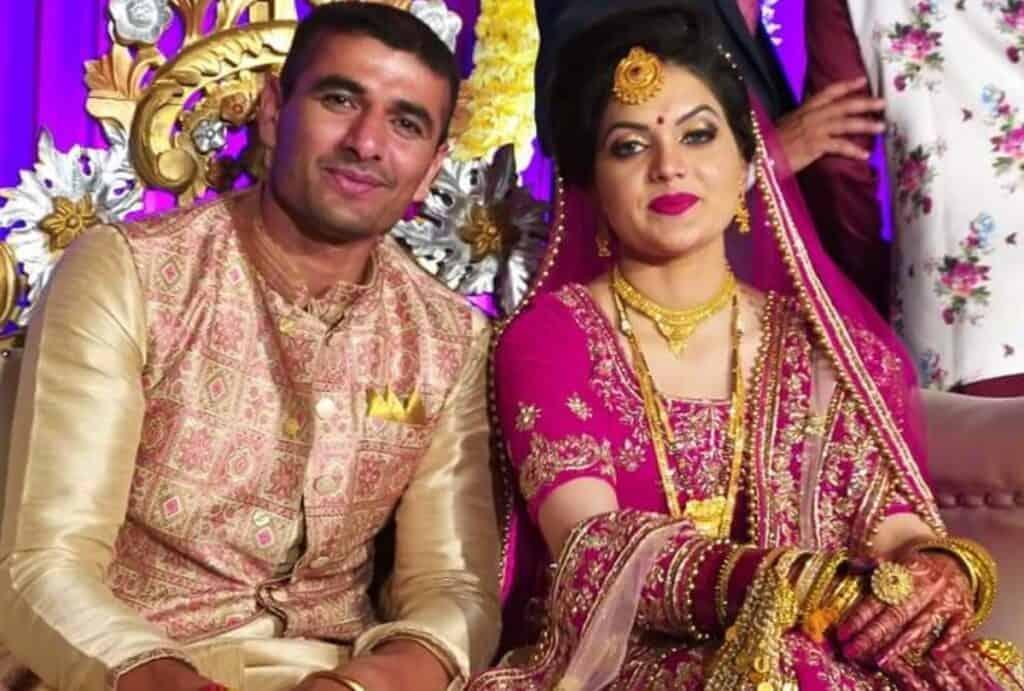 Ajay and his wife Sandeep