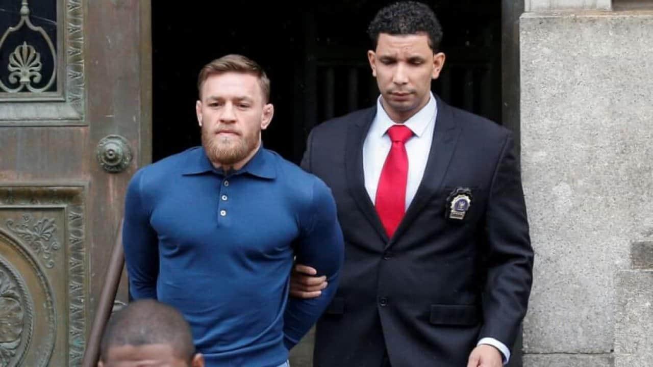 McGregor getting arrested