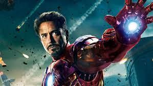 Rober Downey Jr as Iron man