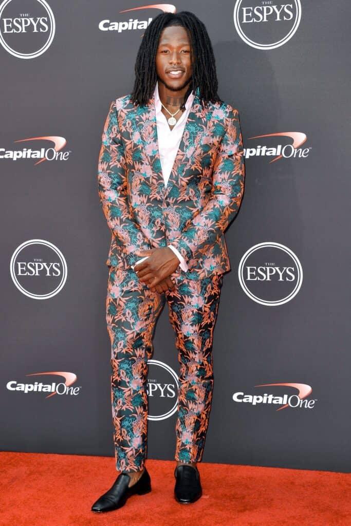 Alvin Kamara at the 2018 ESPY Awards