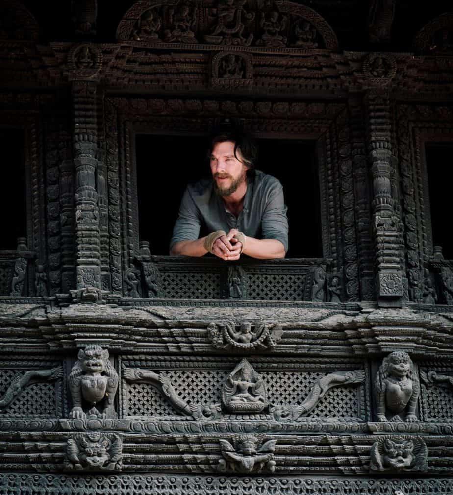 Benedict Cumberbatch shooting Doctor Strange in Kathmandu,Nepal