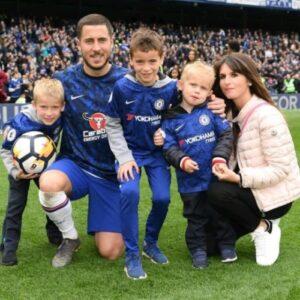 Eden Hazard Family