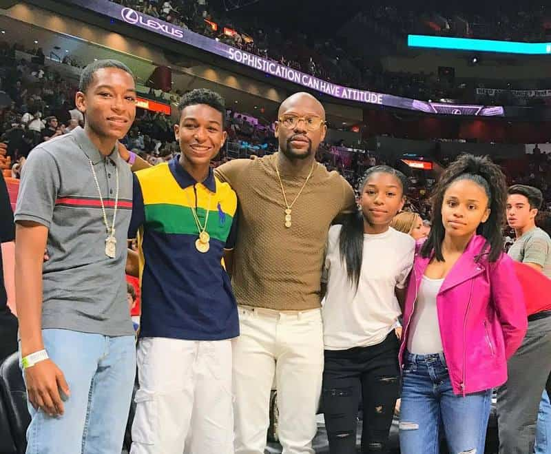 Floyd and his children