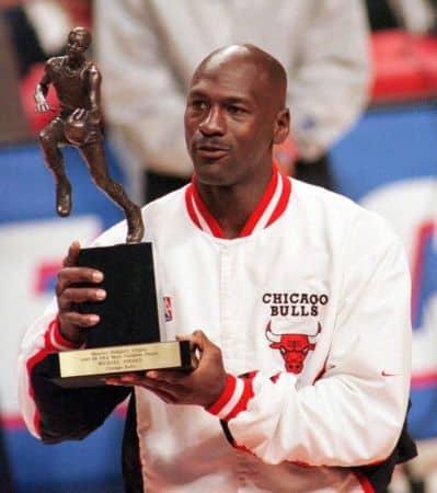 Michael Jordan Winning Awards