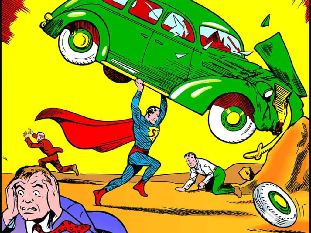 Cover of Action Comics No 1