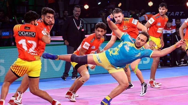 Manjeet during his match
