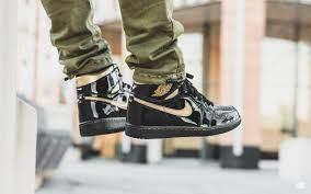 The Air Jordan 1 Black