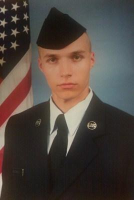 US Army cadet