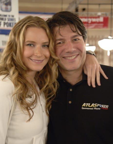 David Benyamine with his ex-fiance Erica.