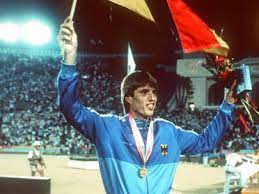 Dietmar Mogenburg representing Germany.