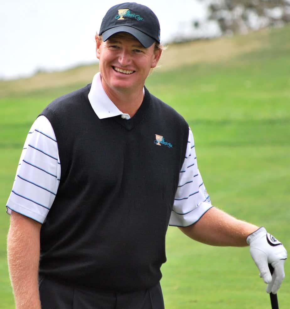 Ernie Els rich golfer