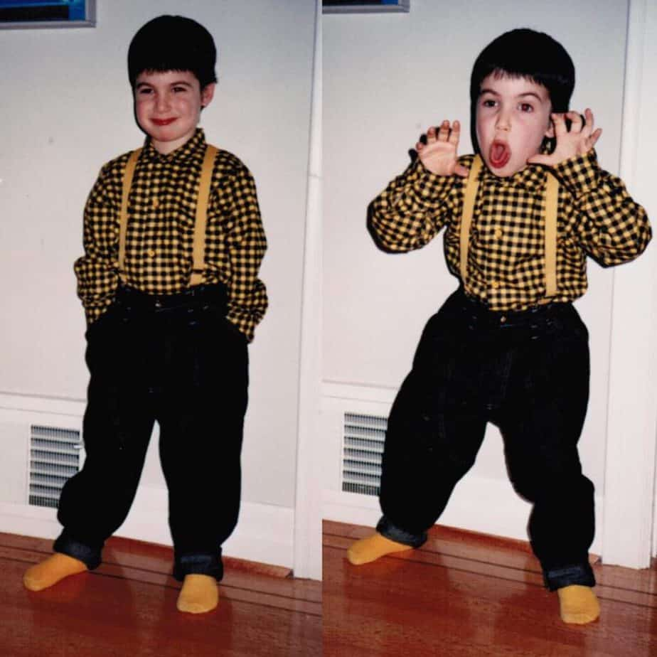 Nathan Fielder during his early days.