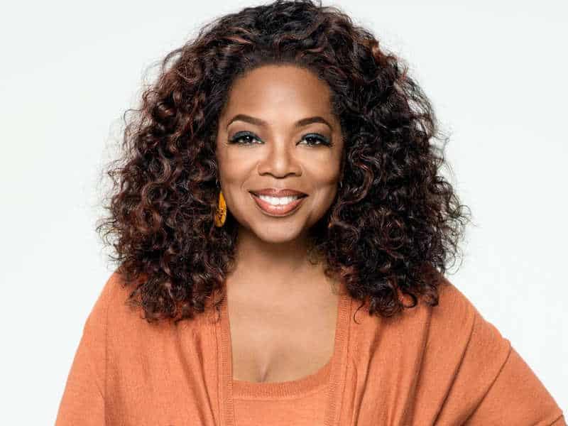 Oprah Winfrey, one of the top motivational speakers