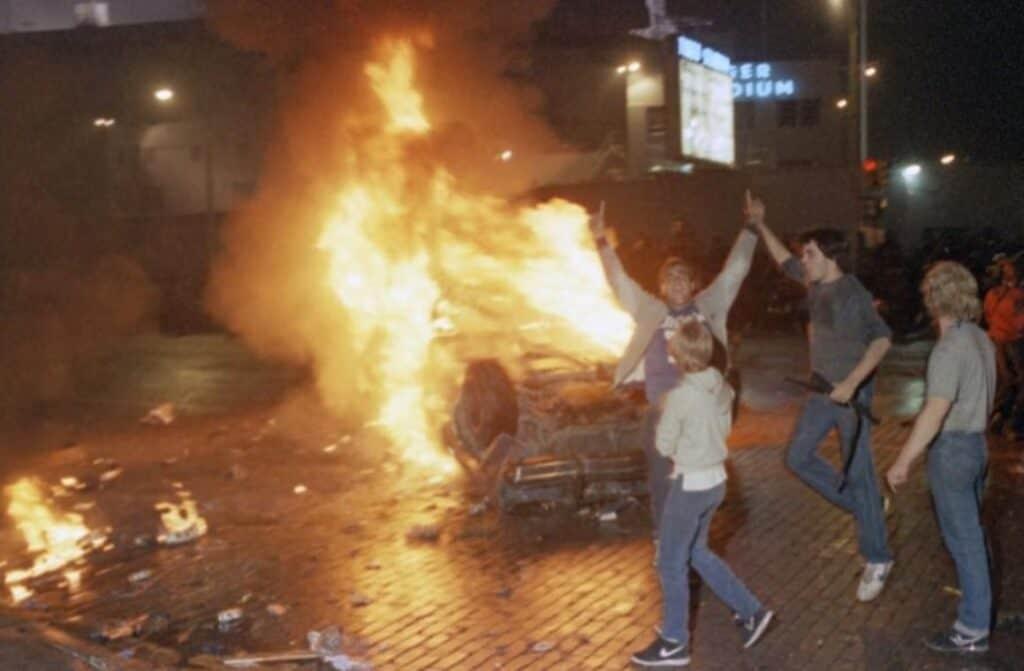 detroit tigers world series riot sports
