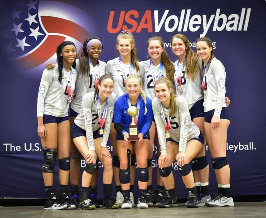 volleyball most popular sports america
