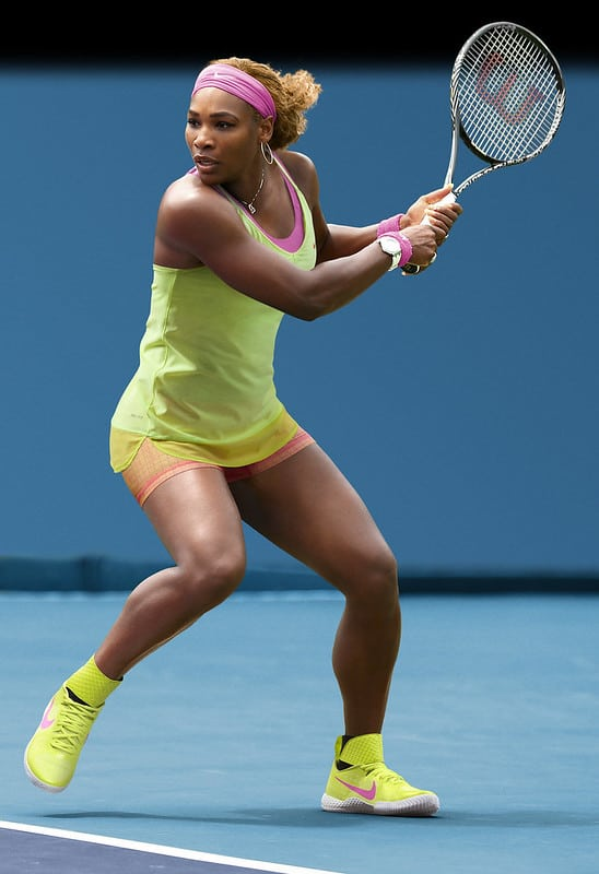 Serena williams major athletes in world right now