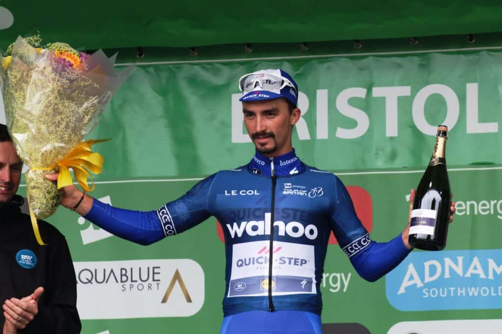 Julian Alaphilippe in Tour of Britain Stage 3