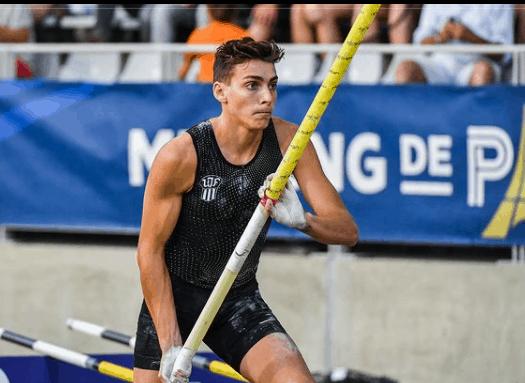 Armand Duplantis during the 2018 European Athletics.