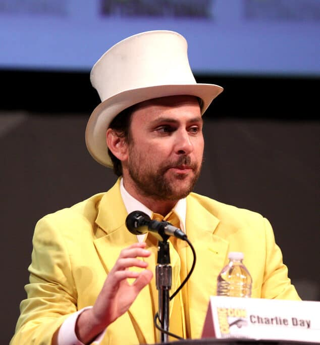 Charlie in an Comic Show.
