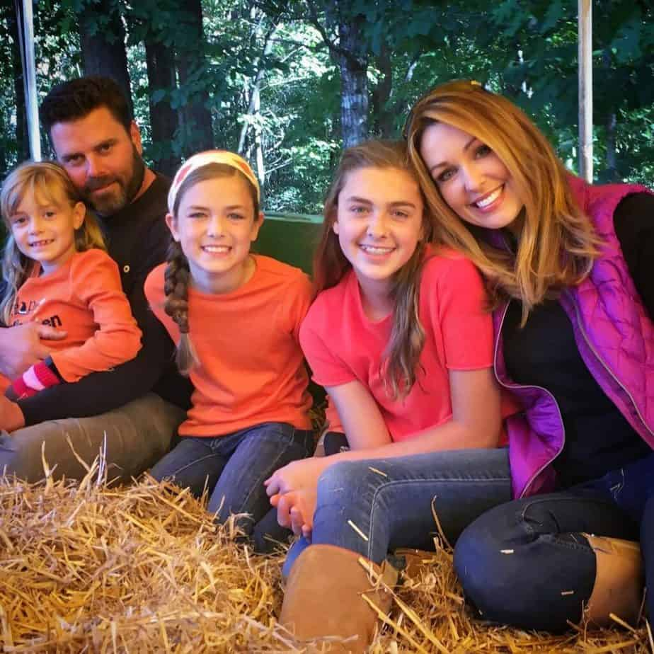 Christi Paul with her family