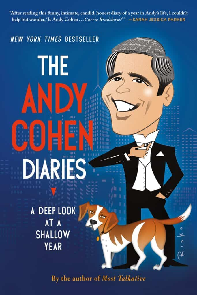 Cover of Andy Cohen's book, The Andy Cohen Diaries.