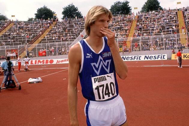 Dietmar Moegenburg during 1990.