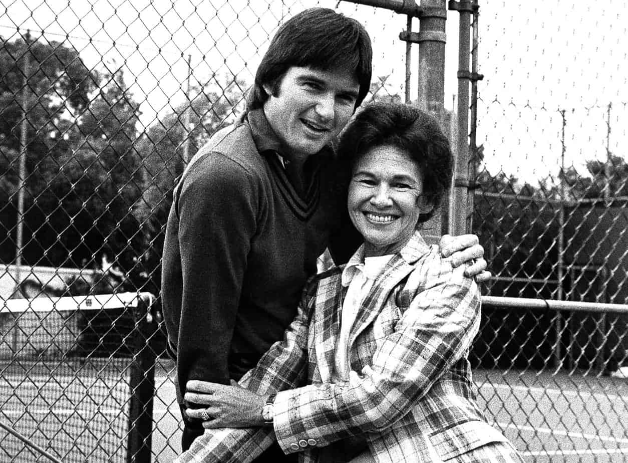 Jimmy with his mother Gloria