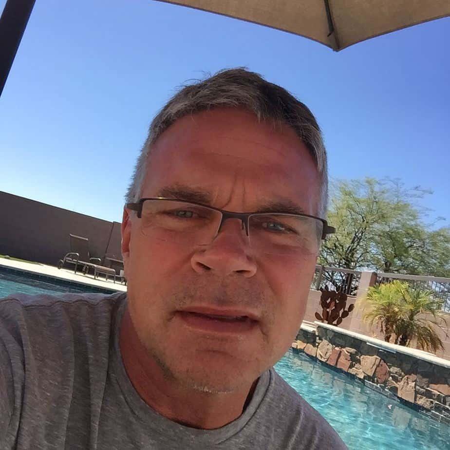 John Brzenk taking a selfie