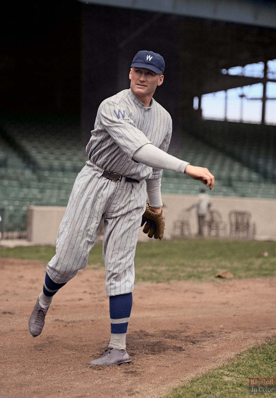 Walter Johnson best baseball players of all time