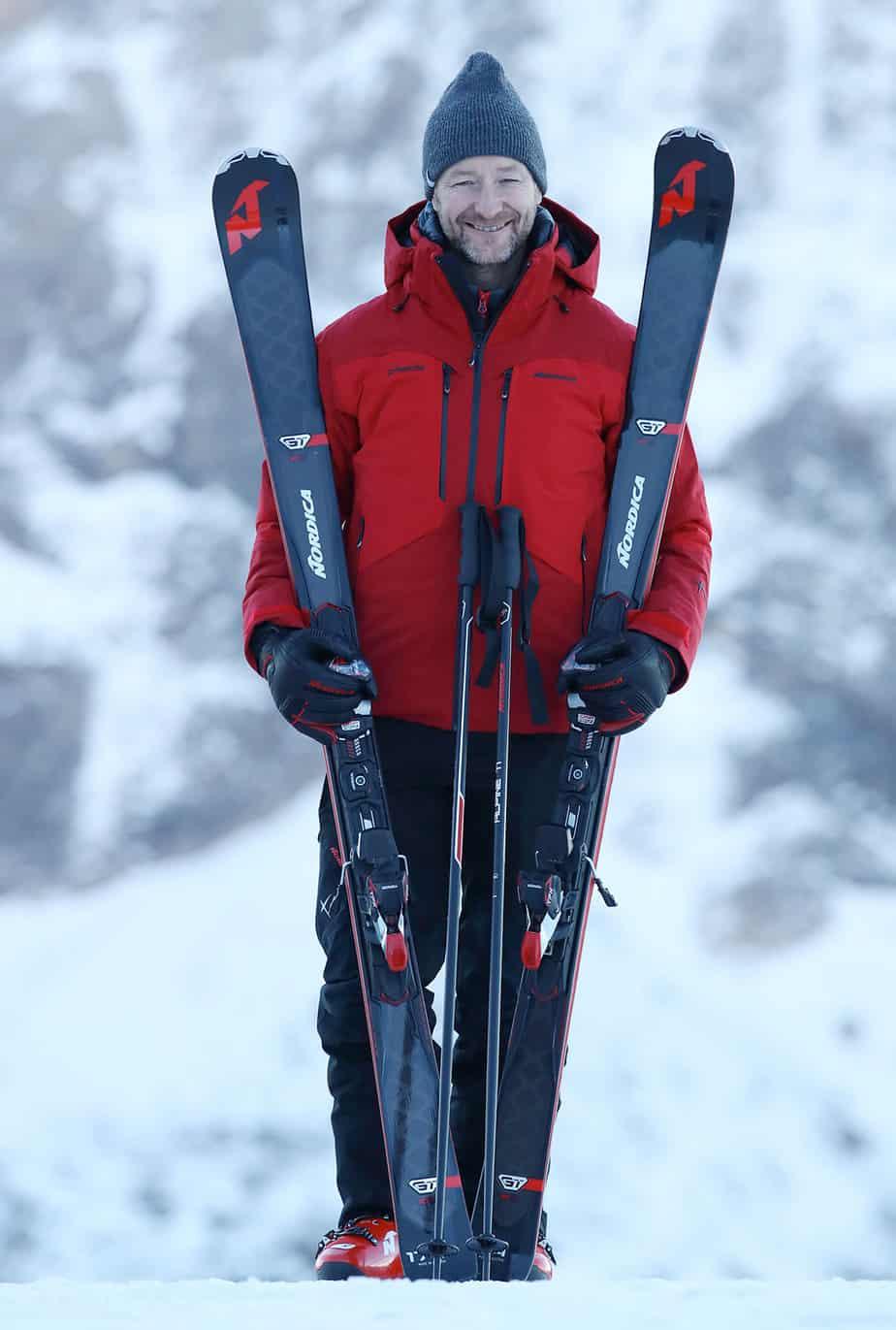 Kjetil Andre Aamodt Nordica skis