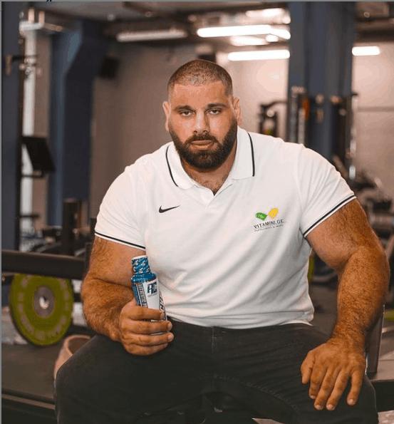 Levan Saginashvili posing for a photo.