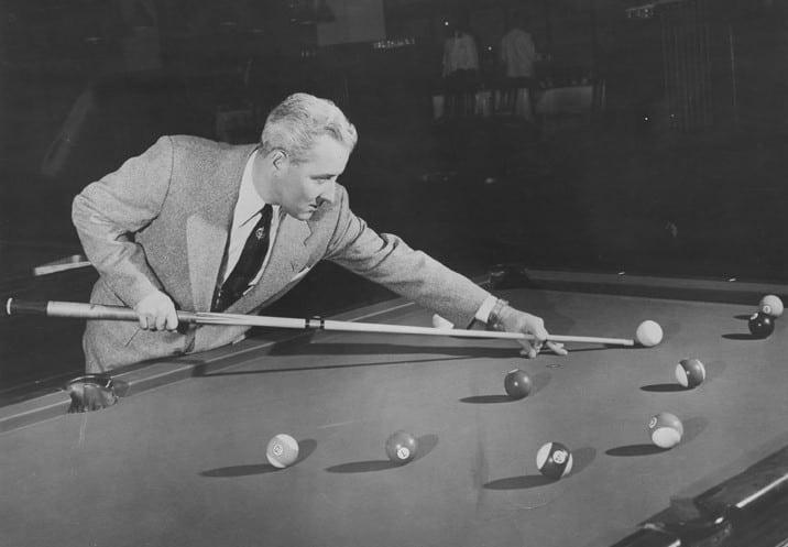 Mr. Pocket Billiards, Willie Mosconi